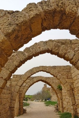 Arches at Caesarea