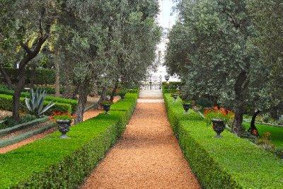 Baha'i Garden Path