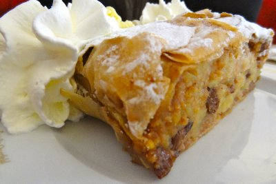 Apple Strudel at the Café Museum