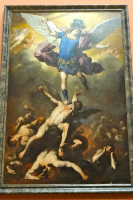 Archangel Michael overthrows the Rebel Angle