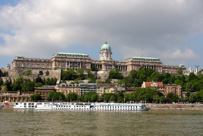 Buda Castle and the Danube