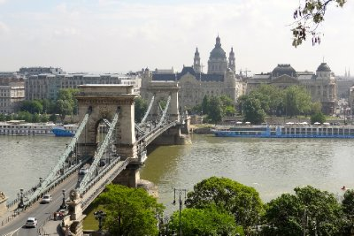 Chain Bridge over the Danube