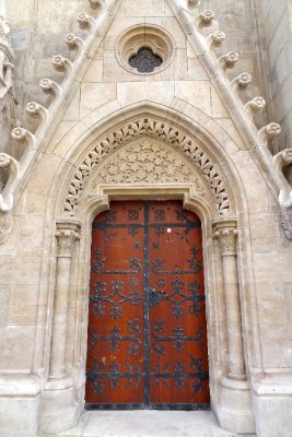 Door into the worship