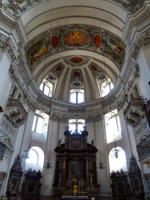 The Dom Cathedral in Salzburg