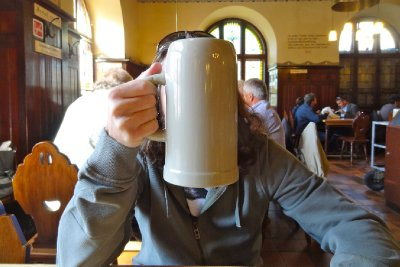 Big mugs of beer