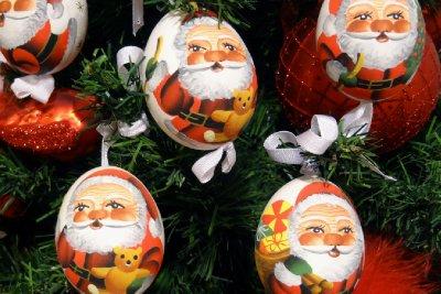 Santa Eggs