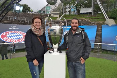 With the UEFA Trophy