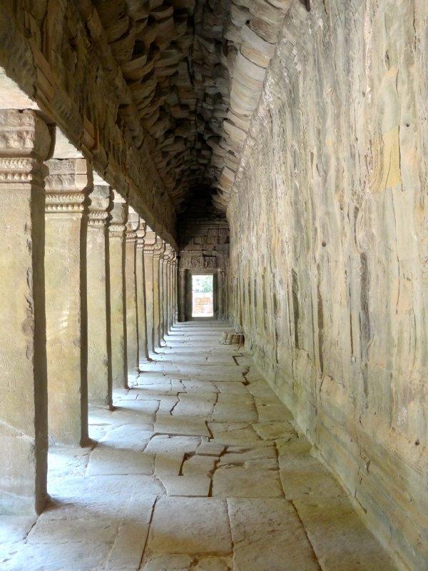 Hallway in Ta Prohm