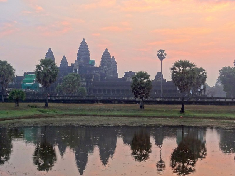 Sunrise at Angkor Wat II