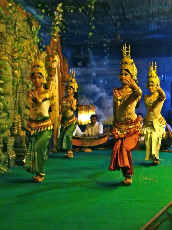 Apsara Dancers I