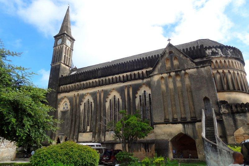 Church that shut the market down