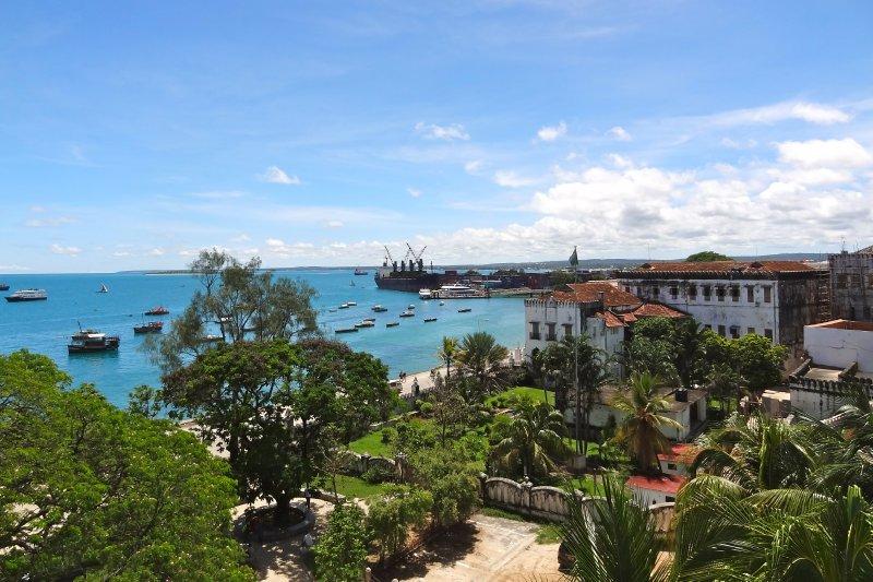 Zanzibar from the roof