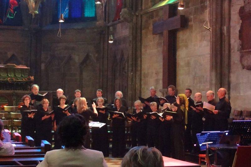 Let the choir sing!