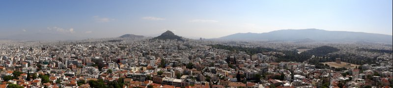 The sprawling Athens metropolis