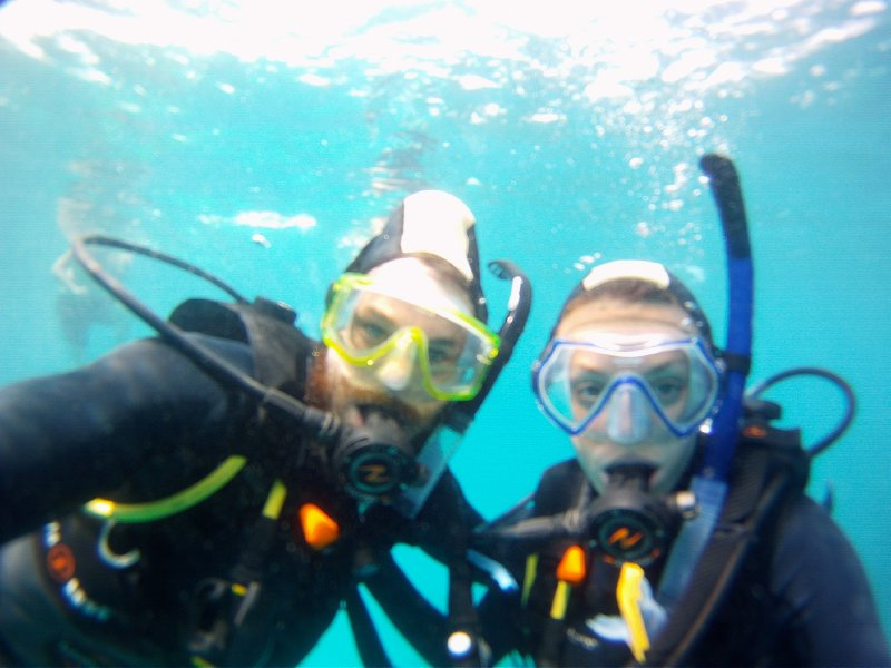 Two Scuba Buddies!