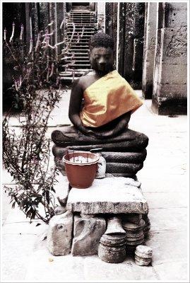Buddha at Bayon, Hipsta