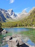 Lake Mackenzie and Emily Peak