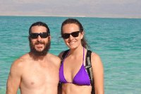 Us at The Dead Sea