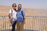 Looking Out off Masada's Edge