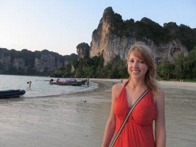 Sam on Railay Beach