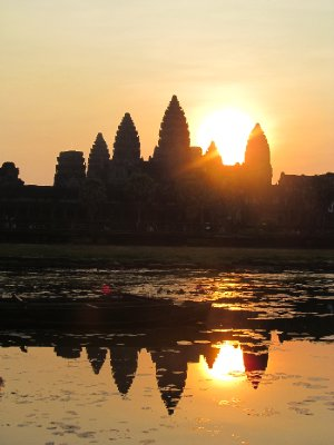 Sunrise over Angkor Wat 1