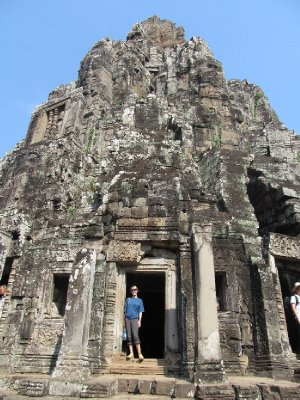 Sam at Angkor Thom