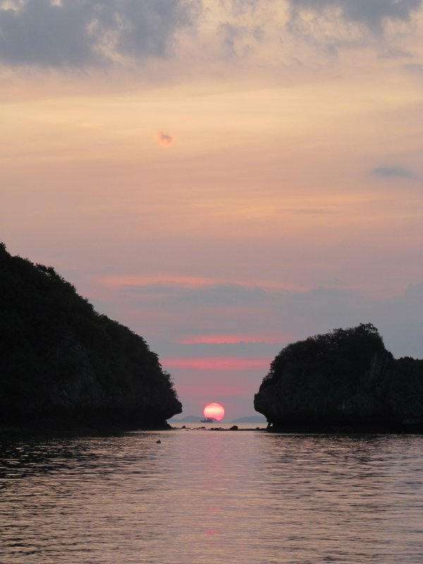 Sunset in Krabi