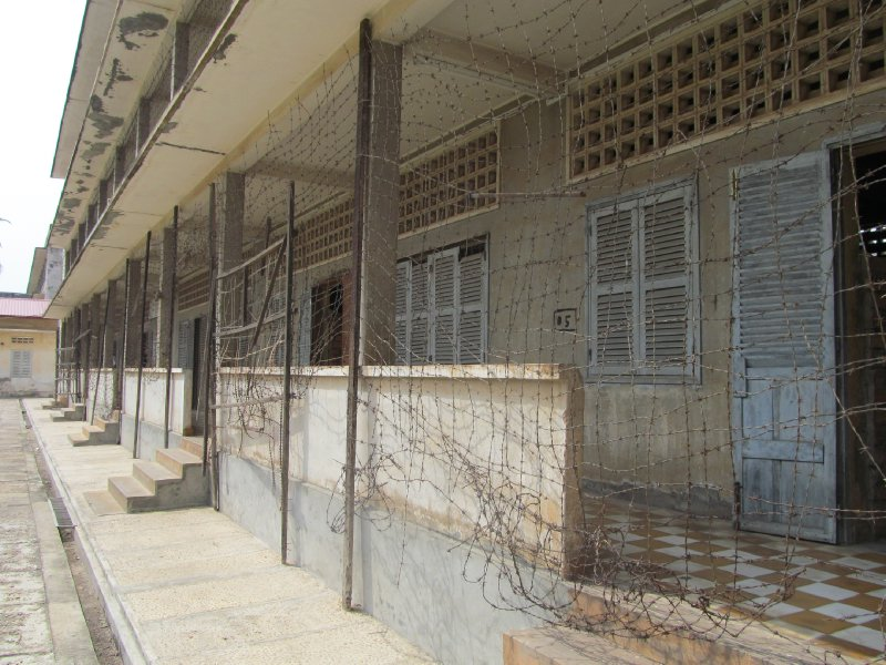 Tuol Sleng Genocide Museum Exterior