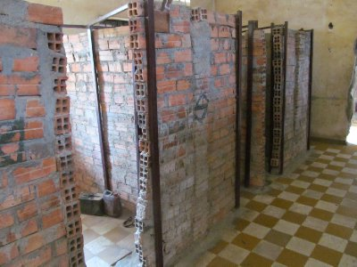 Tuol Sleng Genocide Museum - Individual Cells