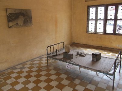Tuol Sleng Genocide Museum - Torture Room