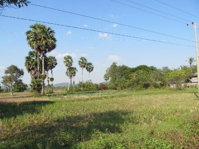 Countryside outside of Kampot
