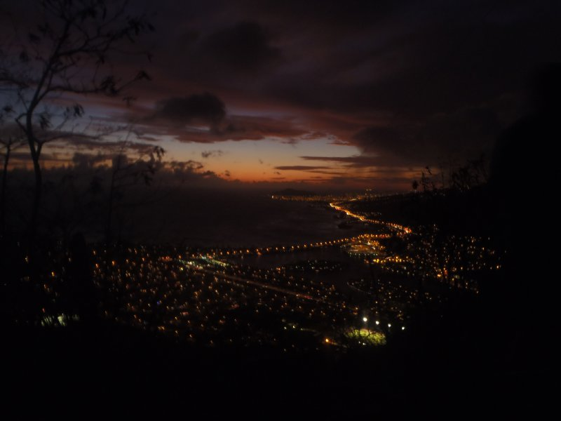 Sunset over Koko Head