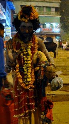 Sardu (Holy man) Varanasi, India
