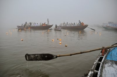 Rowing on the Ganges