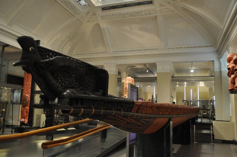 Maori War Canoe
