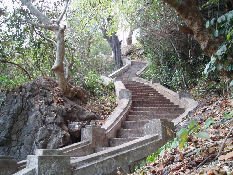 Phoi Si stairs, Luang Prabang