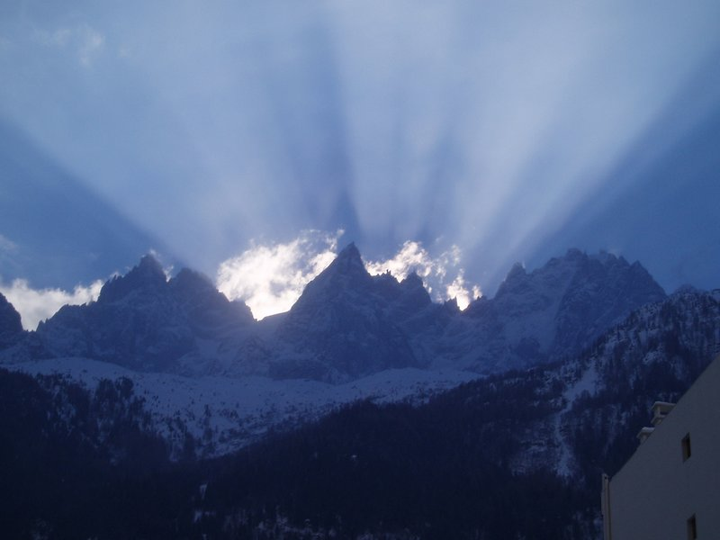 Sunrise in the Austrian Alps