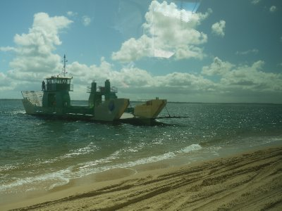 Fraser Island ferry