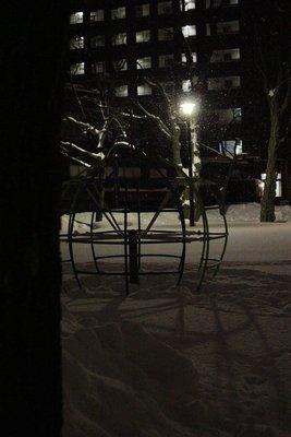 park snow night 2