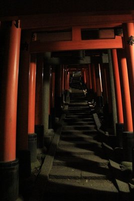 Inari temple stairs