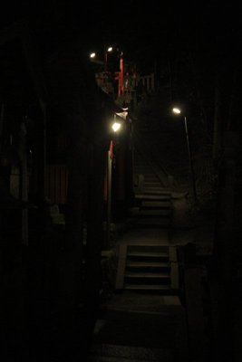 Shrines on way up Inari mountain