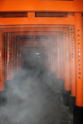 Photo steam on Inari gates