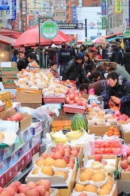 Fruit stall, busan