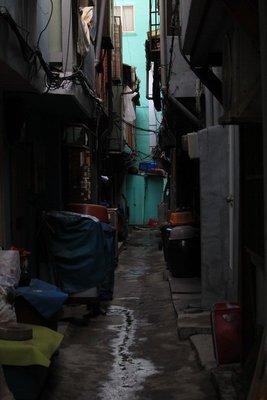 Busan alleyway, sth Korea