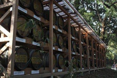 Yeyogi Park - Wine Barrels