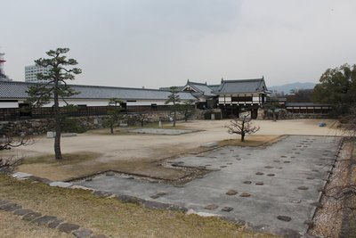 Hiroshima Castle somewhat rebuilt
