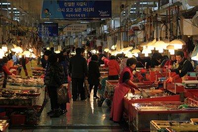 Fish market Busan 1