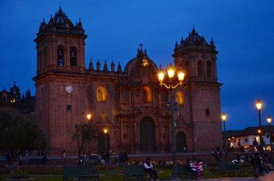 Cusco - la cathedrale