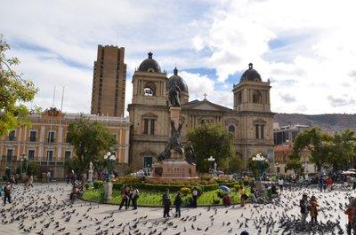 La Paz Place principale