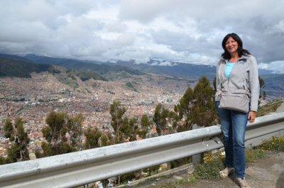 La Paz - Vue d'en haut